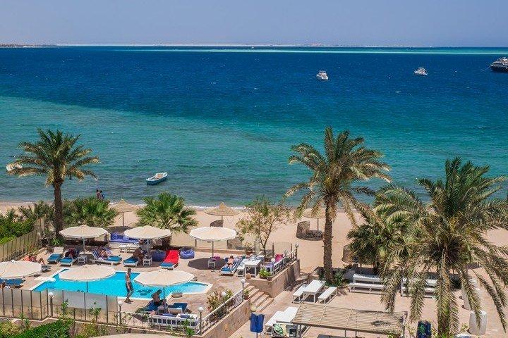 Nemo Dive Club & Hotel Uitzicht vanaf dakterras