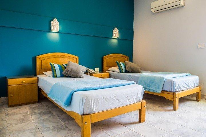 Nemo Dive Club & Hotel Kamer met 2 losse bedden