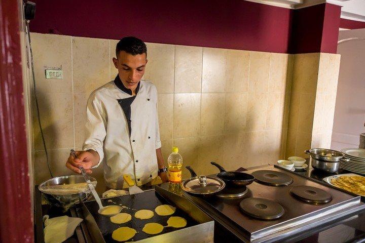 Nemo Dive Club & Hotel pannenkoekjes bij het ontbijt