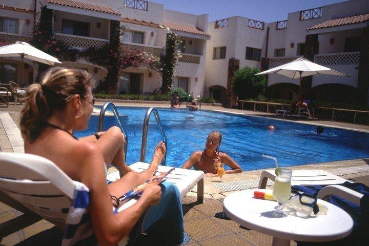 Camel Dive Club zwembad
