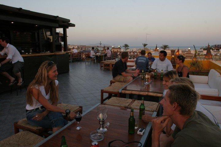 Camel Dive Club Rooftop bar