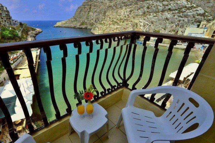 Balkon met zeezicht