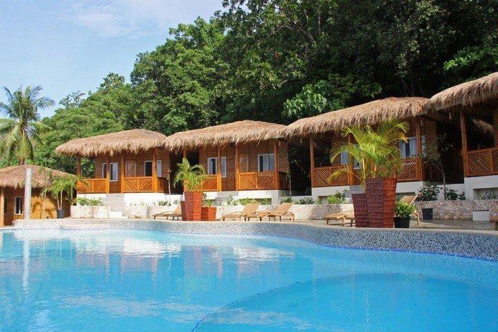 Zwembad Magic Oceans Dive Resort
