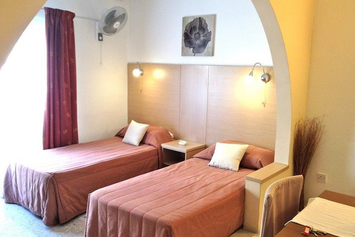 Slaapgedeelte appartement