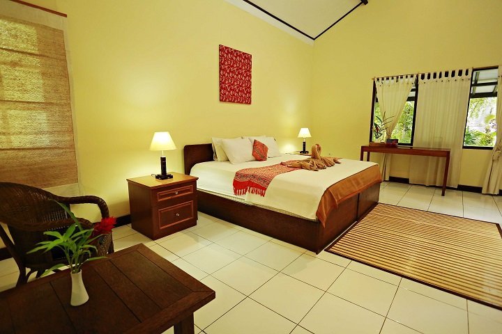 Murex Manado Dive resort kamer