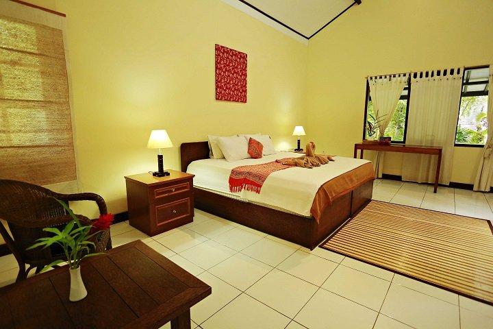 Murex Manado Dive resort kamer
