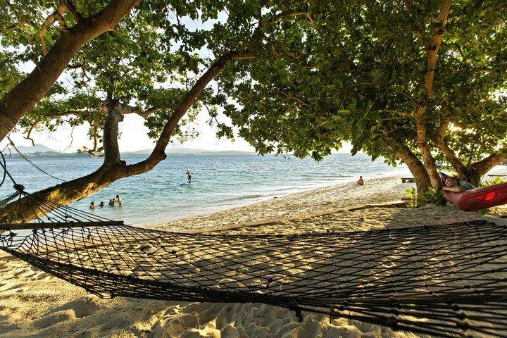 Murex Banga island resort hangmat