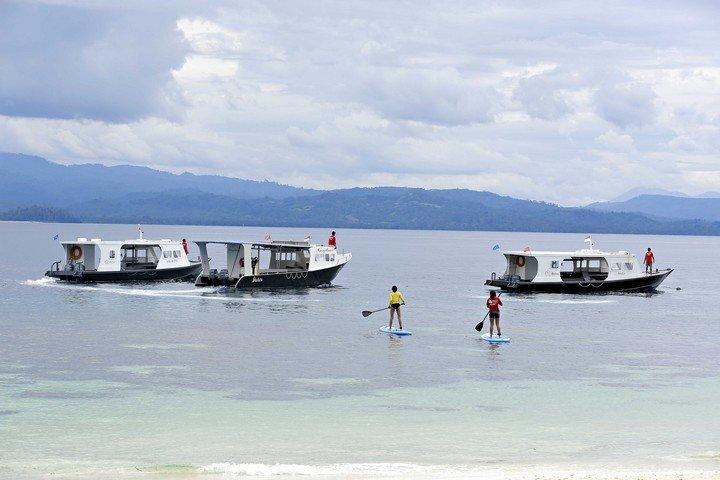 Murex Banga island resort suppen