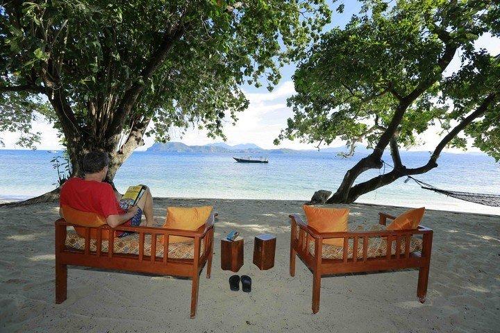Murex Banga island resort relaxen