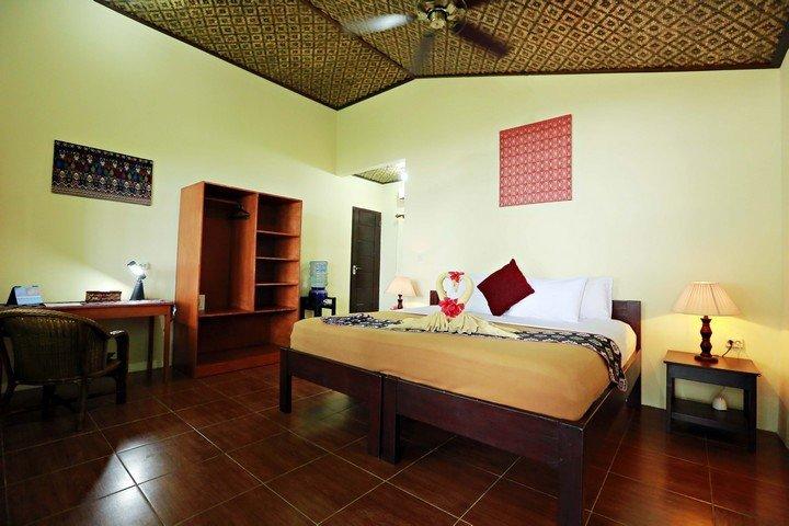 Murex Banga island resort duplex bungalow