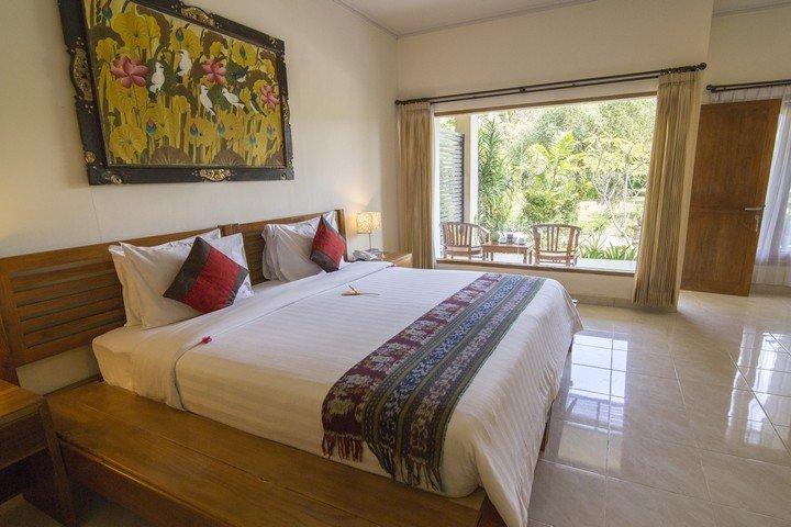 Puri Sari Hotel slaapkamer