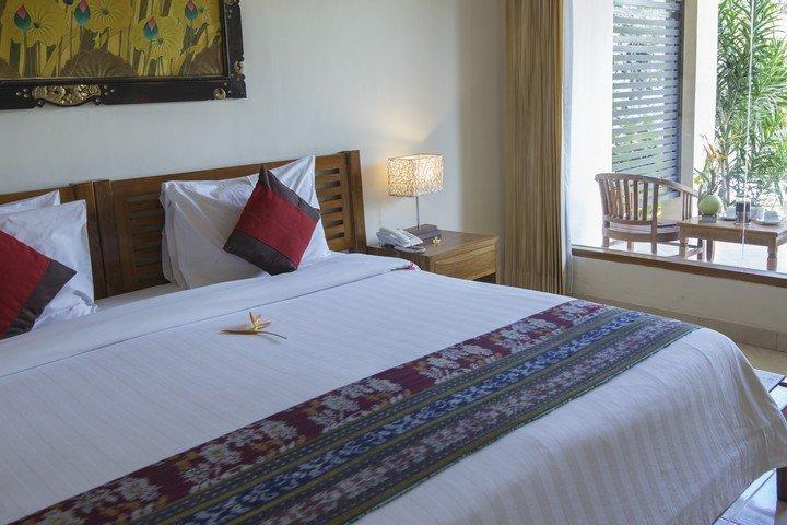 Puri Sari Hotel kamer 2-persoonsbed