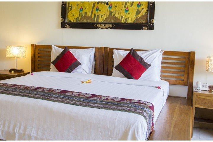 Puri Sari Hotel kamer 2-persoons bed