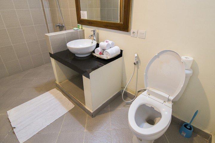 Puri Sari Hotel badkamer