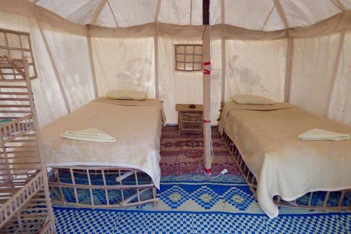 Marsa Nakari - Binnenkant Tent