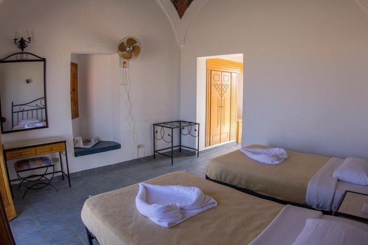Marsa Nakari - Binnenkant Chalet