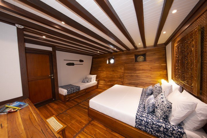 Coralia beneden dek cabin - Dive and Travel