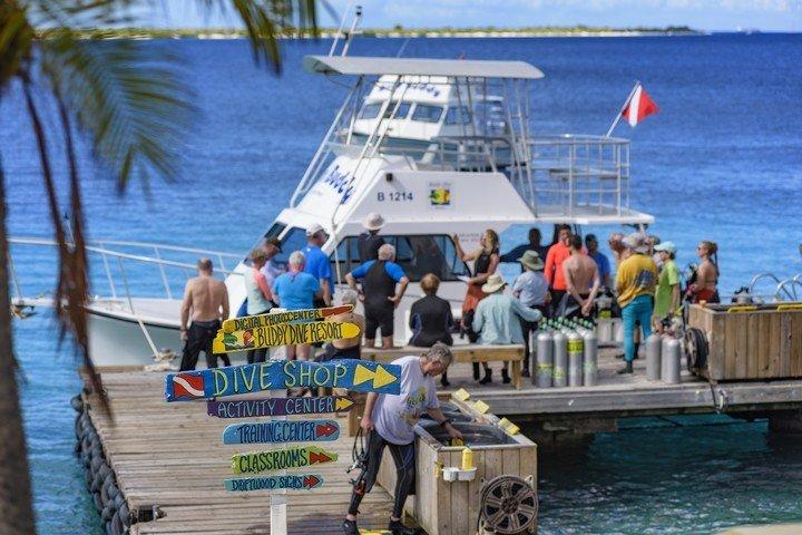 Bootduiken Buddy Dive Resort