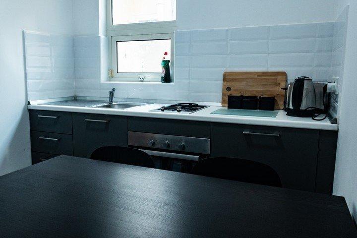Block Gozo keuken van Deluxe 2 slaapkamer appartement