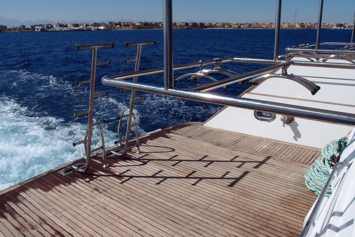 Big Blue Liveaboard duikplatform Rode Zee Egypte