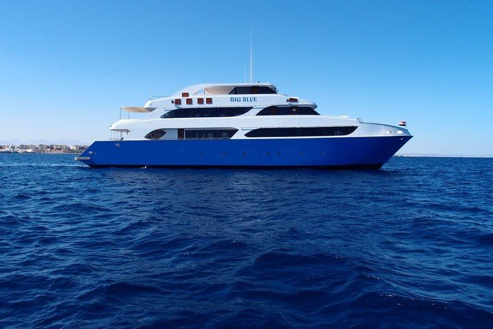 Big Blue Liveaboard Rode Zee Egypte