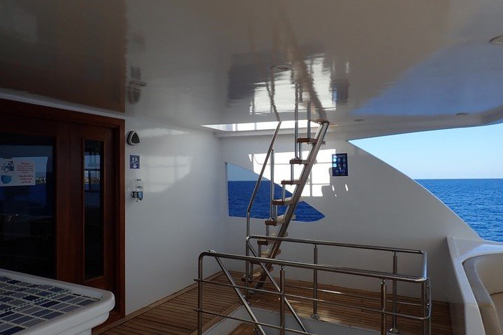 Lounge dek Big Blue Liveaboard