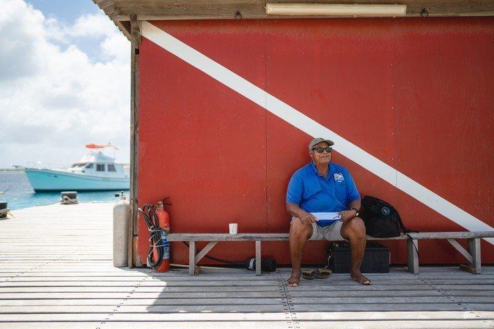 Captain Dons Habibat - pier