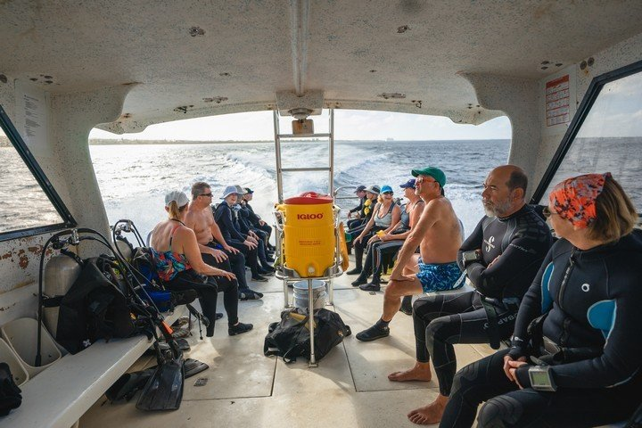 Captain Dons Habitat - dive boat
