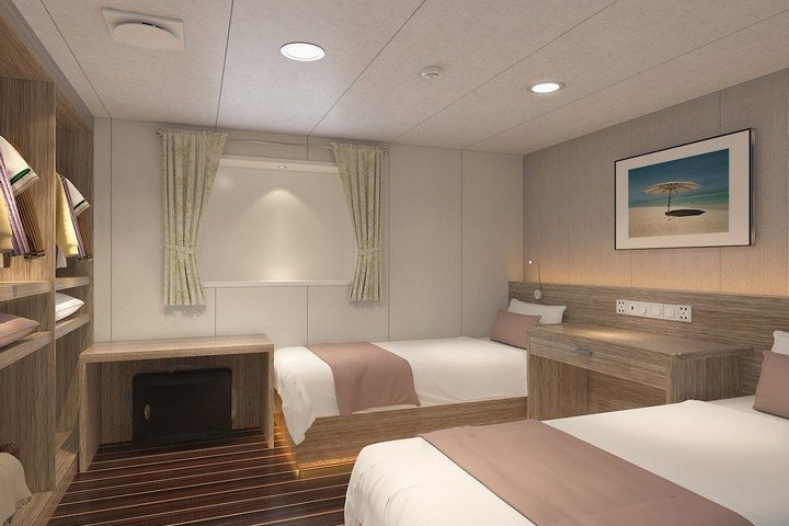White Manta liveaboard - lower deck cabin 2