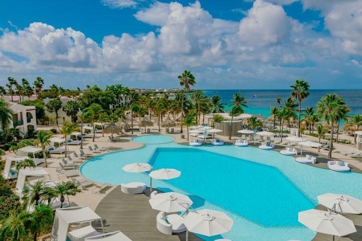 Plaza Resort zwembad - Dive and Travel