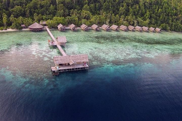 Papua Explorers aeral photo's