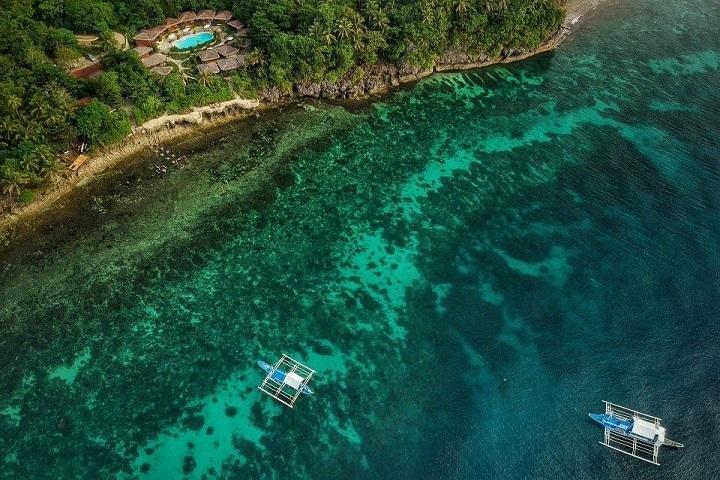 Magic Oceans Resort luchtfoto